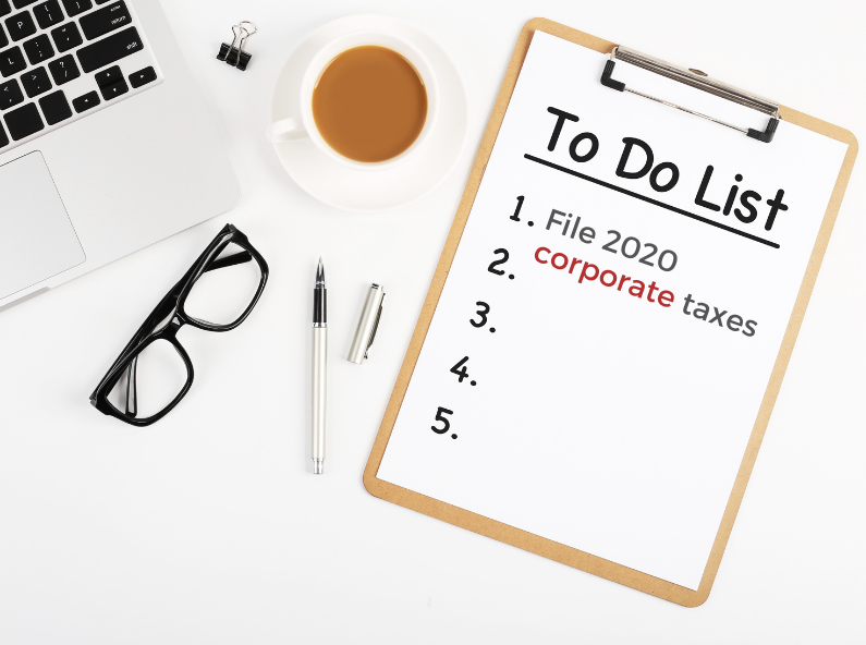Answers to Some of Your Questions on Filing Your CORPORATE 2020 Taxes (More To Come…)